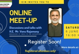 Online Meetup with H.E. Mr. Venu Rajamony Ambassador of India to The Netherlands